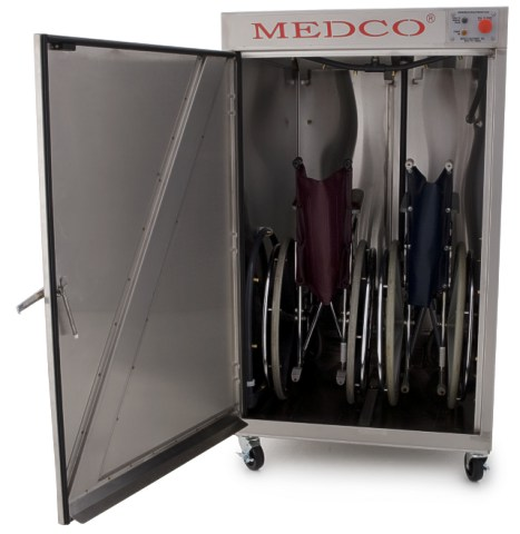 Wheelchair washer by Medco Equipment, Inc.